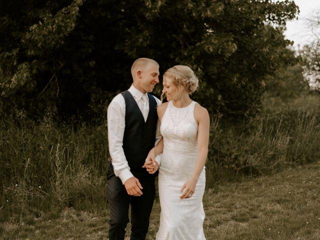 The wedding of Arianna and John