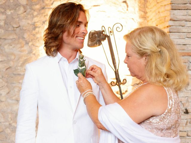 Kendra and Mark's Wedding in Rome, Italy 16