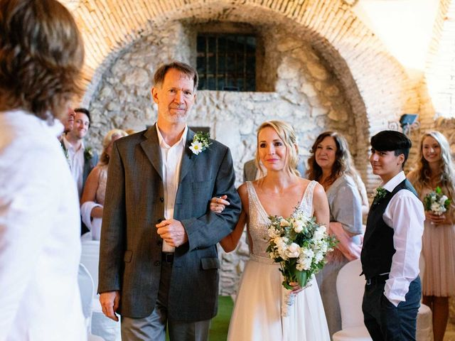 Kendra and Mark's Wedding in Rome, Italy 19