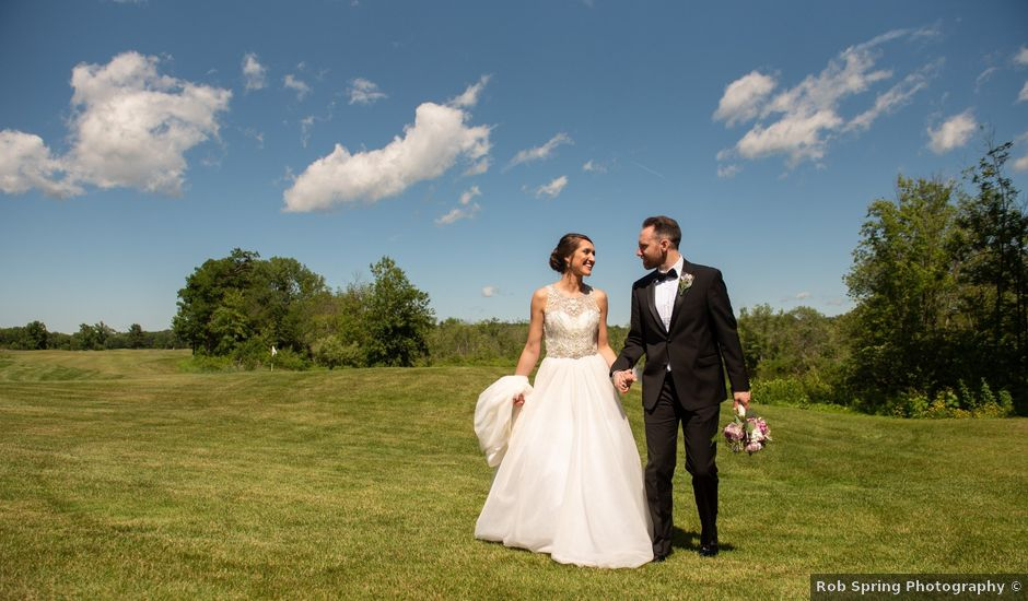 Peter and Danielle's Wedding in Saratoga Springs, New York