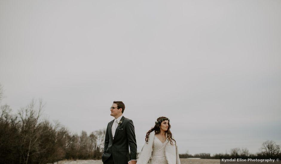 Mark and Leah's Wedding in Pella, Iowa