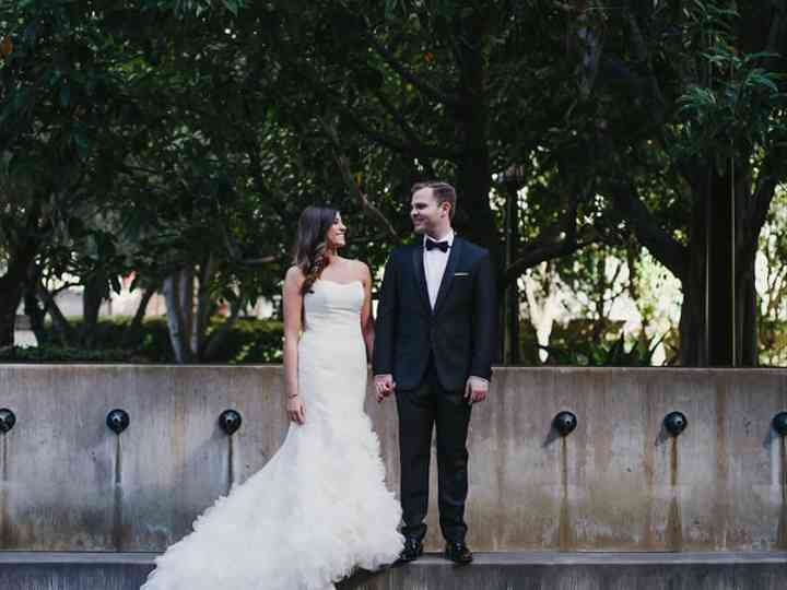 The wedding of Bryan and Stevie