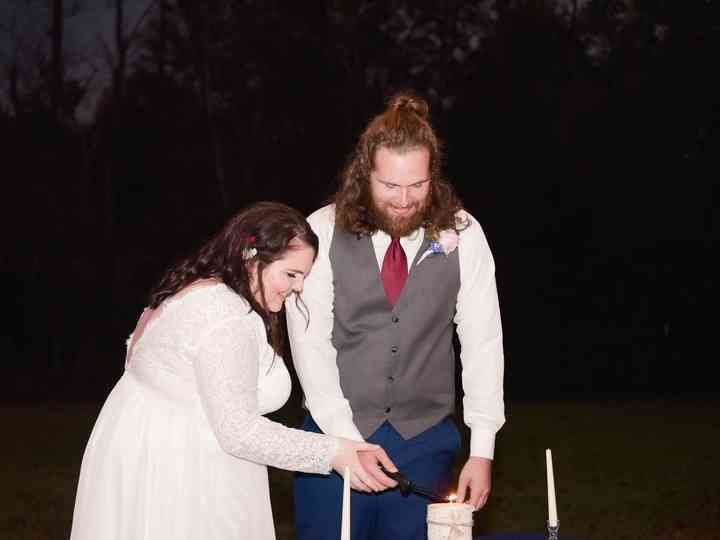The wedding of Regan and Cory