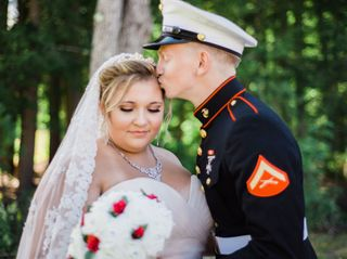 The wedding of Alicia and Justyce