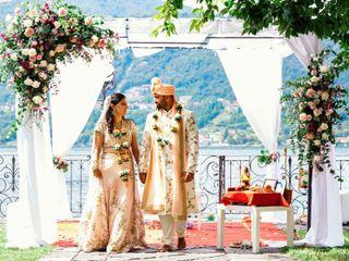 The wedding of Nili and Karan