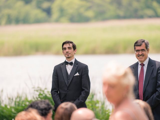 Andrew and Fufan's Wedding in Old Lyme, Connecticut 10
