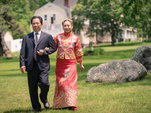 Andrew and Fufan's Wedding in Old Lyme, Connecticut 11