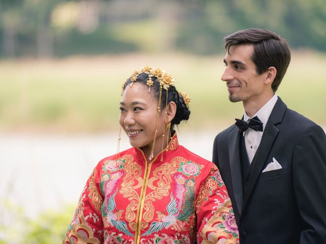 Andrew and Fufan's Wedding in Old Lyme, Connecticut 12