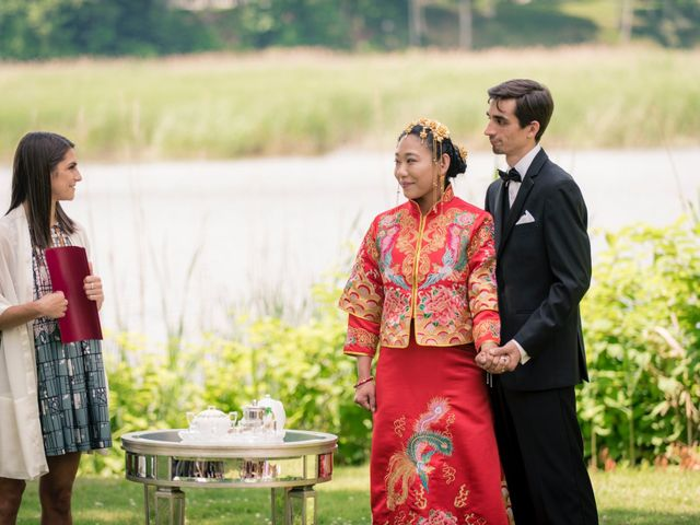 Andrew and Fufan's Wedding in Old Lyme, Connecticut 16