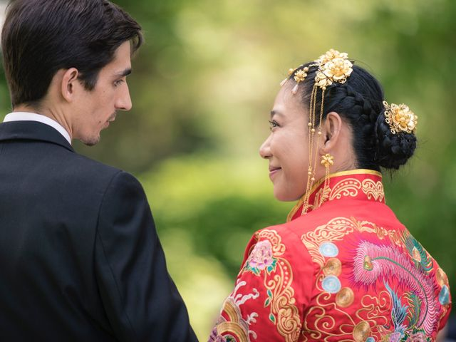Andrew and Fufan's Wedding in Old Lyme, Connecticut 20