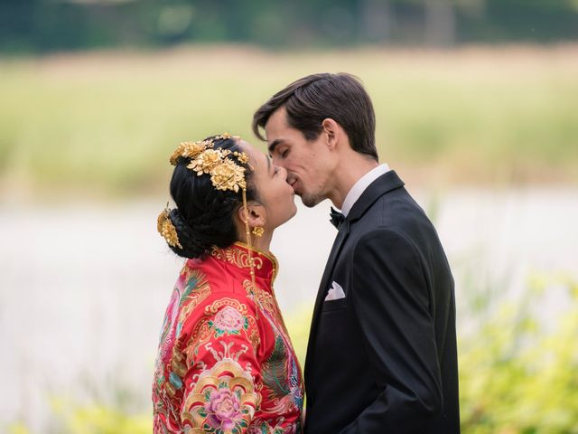 Andrew and Fufan's Wedding in Old Lyme, Connecticut 1