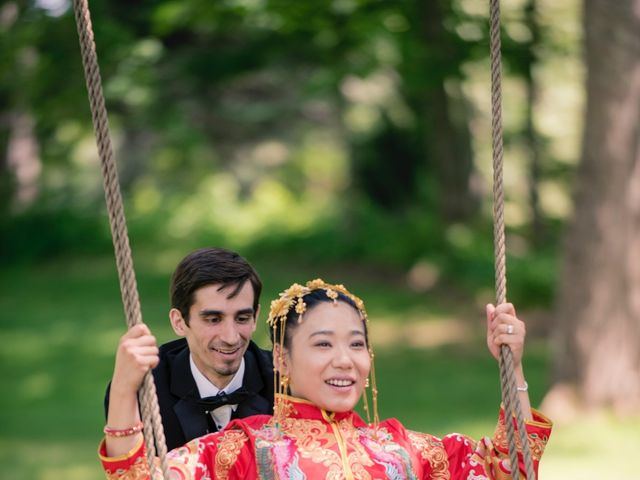 Andrew and Fufan's Wedding in Old Lyme, Connecticut 36