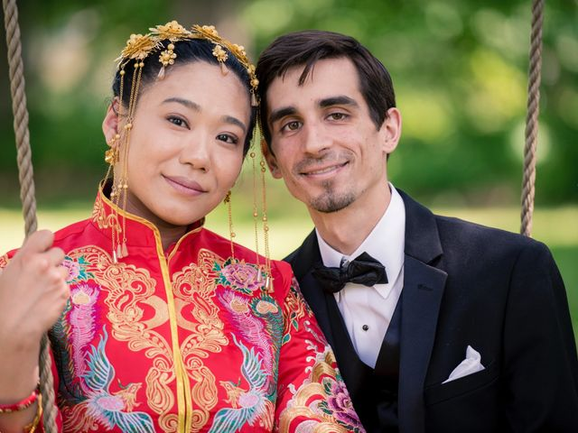 Andrew and Fufan's Wedding in Old Lyme, Connecticut 38