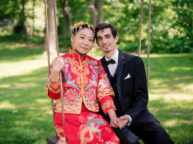 Andrew and Fufan's Wedding in Old Lyme, Connecticut 39