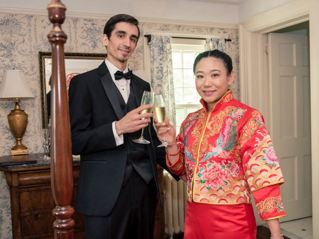 Andrew and Fufan's Wedding in Old Lyme, Connecticut 41