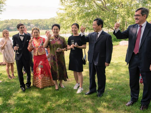 Andrew and Fufan's Wedding in Old Lyme, Connecticut 55