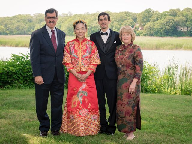 Andrew and Fufan's Wedding in Old Lyme, Connecticut 56