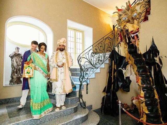 Karan and Nili's Wedding in Milan, Italy 4
