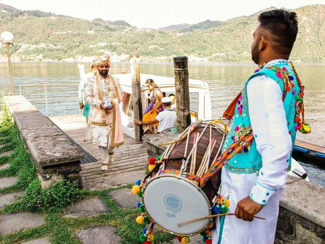 Karan and Nili's Wedding in Milan, Italy 6