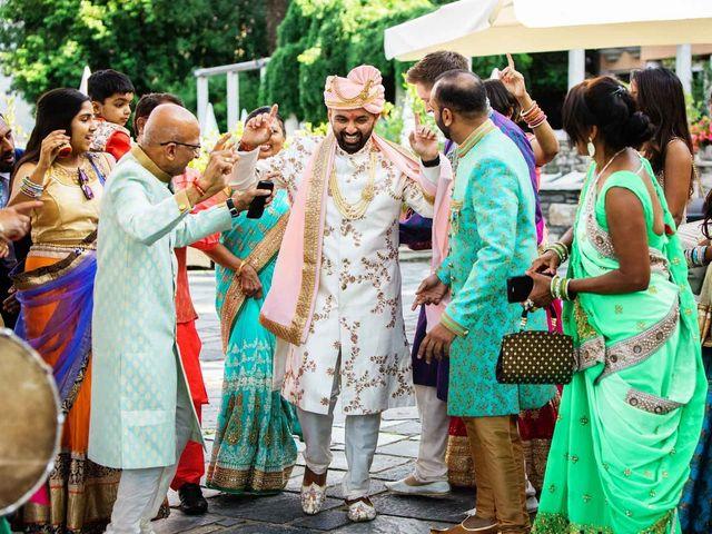 Karan and Nili's Wedding in Milan, Italy 9