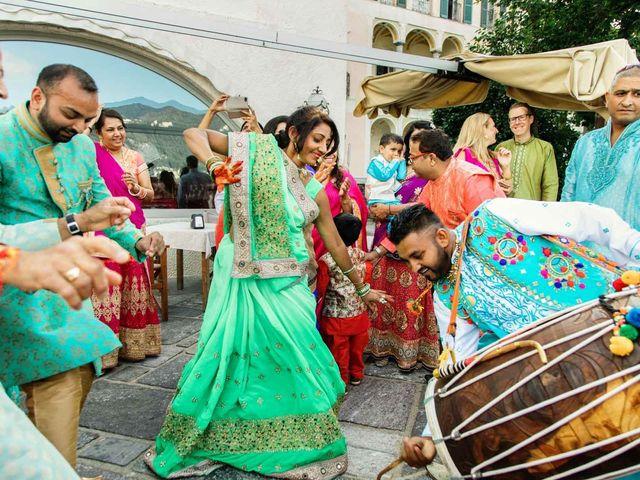 Karan and Nili's Wedding in Milan, Italy 11