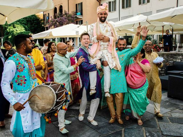 Karan and Nili's Wedding in Milan, Italy 14