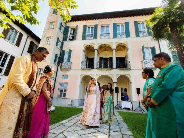 Karan and Nili's Wedding in Milan, Italy 18