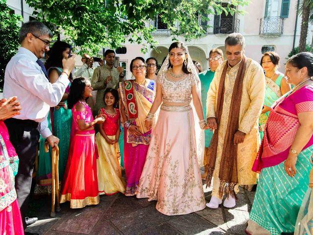 Karan and Nili's Wedding in Milan, Italy 19