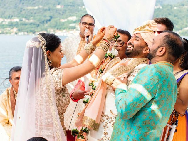 Karan and Nili's Wedding in Milan, Italy 20