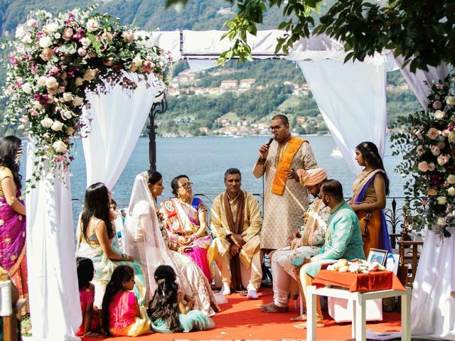 Karan and Nili's Wedding in Milan, Italy 23