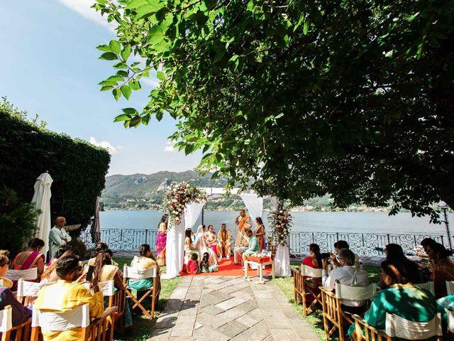 Karan and Nili's Wedding in Milan, Italy 25