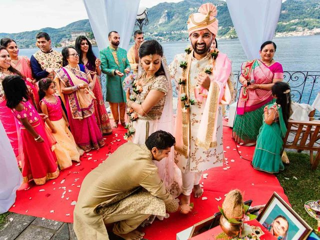 Karan and Nili's Wedding in Milan, Italy 1