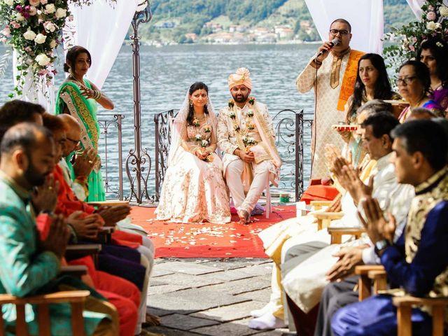 Karan and Nili's Wedding in Milan, Italy 28