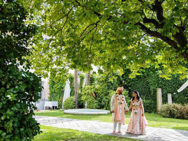 Karan and Nili's Wedding in Milan, Italy 29