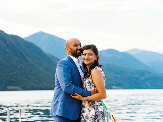 Karan and Nili's Wedding in Milan, Italy 30