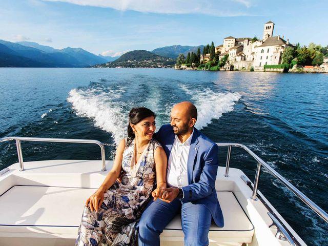 Karan and Nili's Wedding in Milan, Italy 31