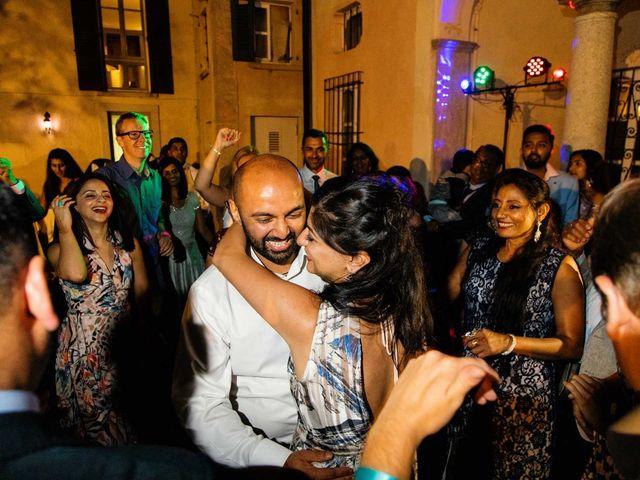 Karan and Nili's Wedding in Milan, Italy 42