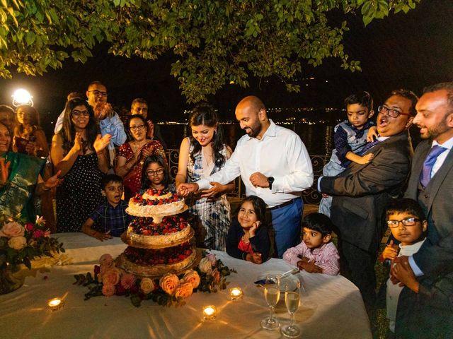 Karan and Nili's Wedding in Milan, Italy 50