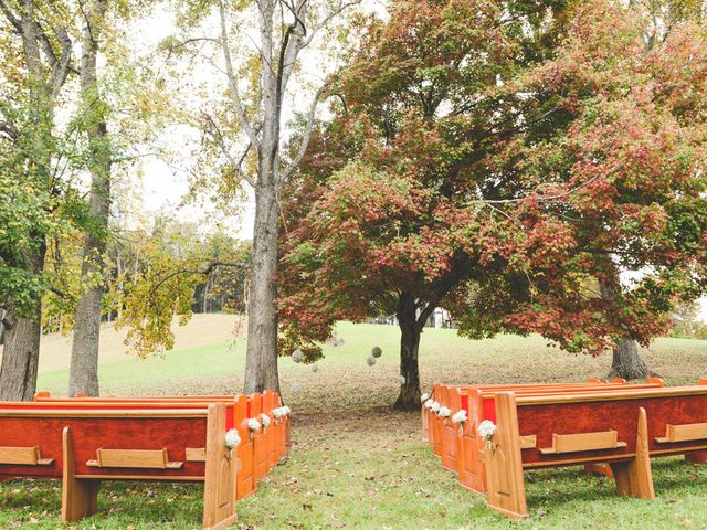 Rachelle and Jay's Wedding in Erwin, Tennessee 10