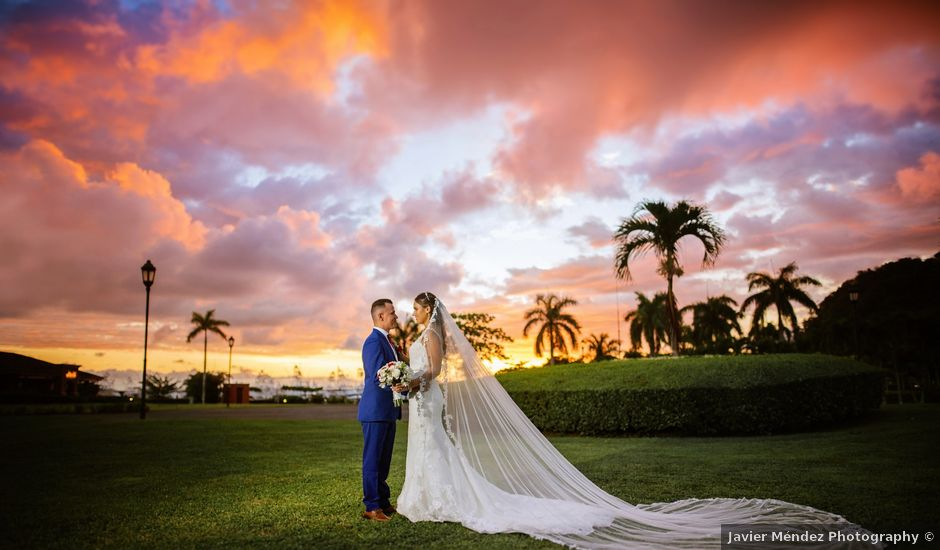 Obed and Eleaneth's Wedding in Jaco, Costa Rica