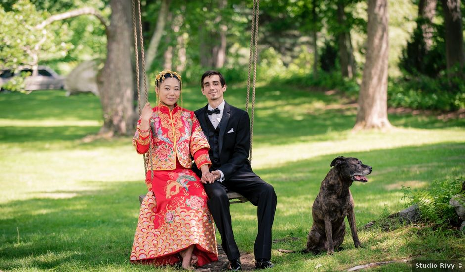 Andrew and Fufan's Wedding in Old Lyme, Connecticut