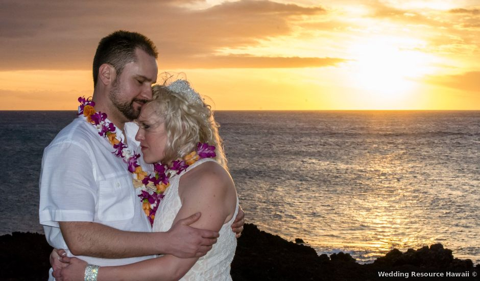 Mike and Brittinie's Wedding in Waikoloa, Hawaii