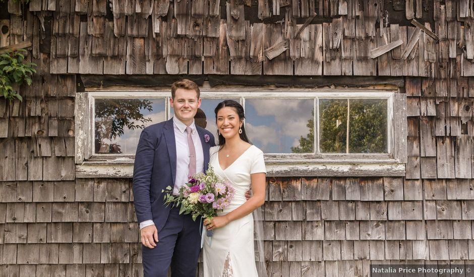 Atticus and Jisu's Wedding in Bow, New Hampshire