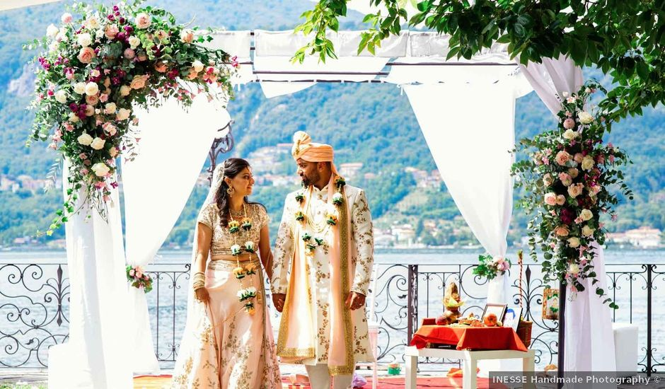 Karan and Nili's Wedding in Milan, Italy