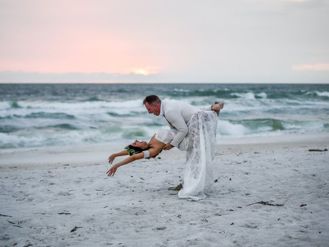 The wedding of Wandita and James