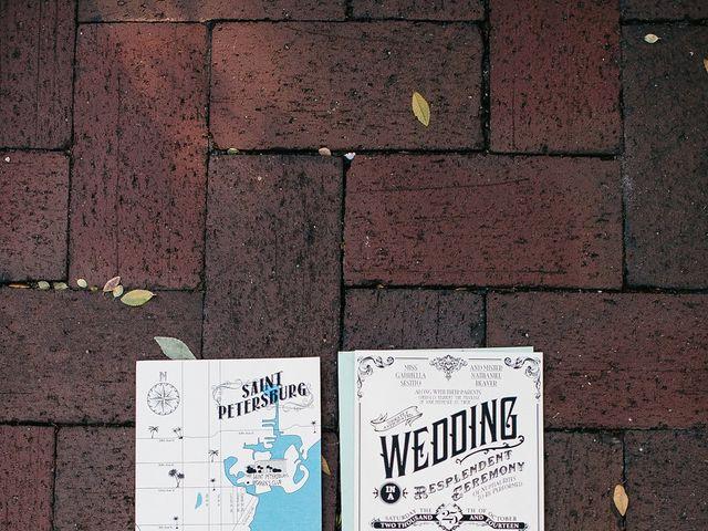 Gabriella and Nathaniel's Wedding in Saint Petersburg, Florida 1