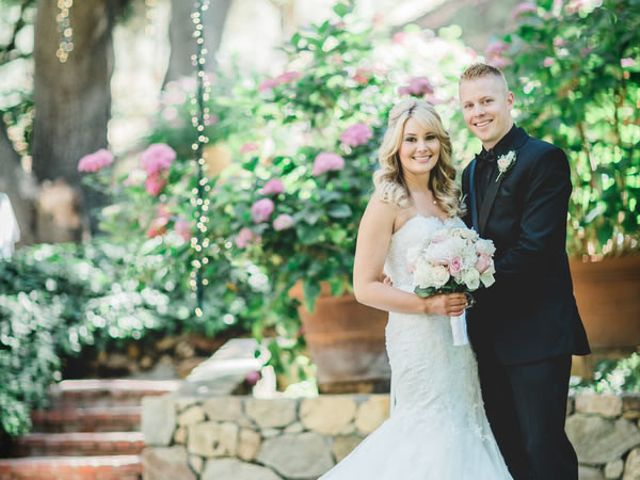 The wedding of Kyle and Brooke
