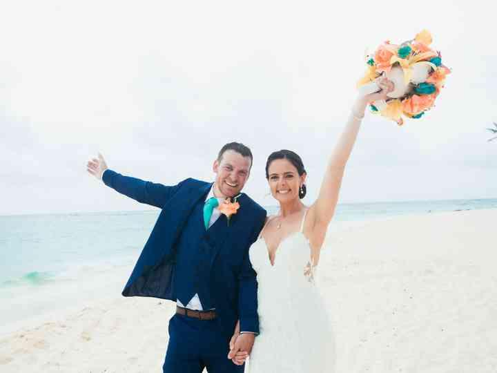 The wedding of Ashley and Schaun