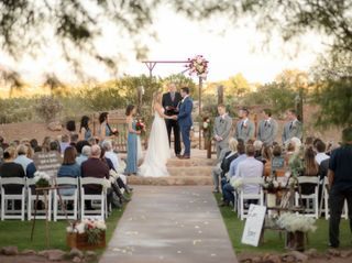 The wedding of Rebecca  and Kyle