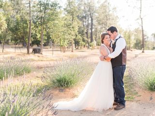 The wedding of Ashley and Clay